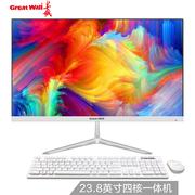 长城  A2403 23.8英寸IPS高清屏超薄办公家用一体机电脑(intel四核J1900 4G 120G固态)