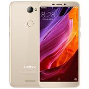 koobee S509高清拍照智能手机  3GB+32GB全网通双卡双待 全面屏手机 月光金