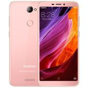 koobee S509高清拍照智能手机  3GB+32GB全网通双卡双待 全面屏手机 芭比粉