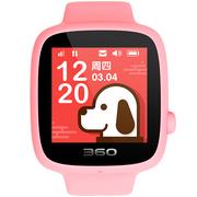 360 儿童电话手表 安全定位全彩触屏 儿童学生手机手环 儿童手表SE 3代 W608B 智能电话手表 樱花粉