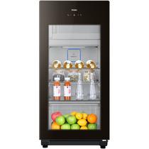 海尔  127升家庭营养保鲜冰吧 离子杀菌茶叶饮料展示柜 DS0127DK产品图片主图