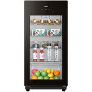 海尔  137升家庭营养保鲜冰吧 离子杀菌茶叶饮料展示柜 DS0137K