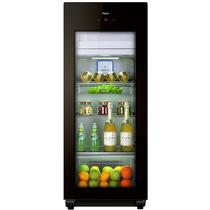 海尔  157升家庭营养保鲜冰吧 离子杀菌茶叶饮料展示柜 DS0157DK产品图片主图
