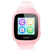 360 儿童电话手表SE3 Plus 智能语音问答拍照安全定位 儿童手表 W705 儿童学生腕式手机手环 樱花粉