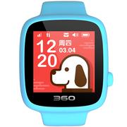 360 儿童电话手表 安全定位全彩触屏 儿童学生手机手环 儿童手表SE 3代 W608B 智能电话手表 天空蓝