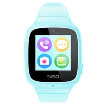 360 儿童电话手表SE3 Plus 智能语音问答拍照安全定位 儿童手表 W705 儿童学生腕式手机手环 天空蓝产品图片主图