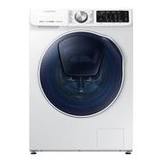 三星 9公斤洗烘一体滚筒洗衣机 双驱双电机 安心添 高温煮洗 泡泡净洗WD90N64FOOW/SC(白)