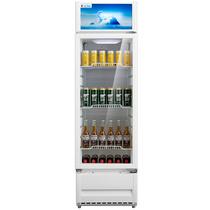 美的 230升 4层搁架 玻璃门 大容积立式展示柜 陈列柜 饮料柜 商用冷藏冰吧SC-230GM(白色)产品图片主图