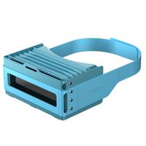Focalmax 手风琴VR眼镜 3D虚拟现实眼镜 近视可佩戴(蓝色)产品图片主图