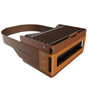 Focalmax 手风琴VR眼镜 3D虚拟现实眼镜 近视可佩戴(咖啡色)