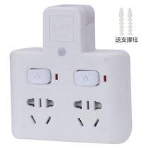惠尔金 TF-232灯一转二带小夜灯带儿童保护门分控开关无线转换器插座/插排/排插产品图片主图