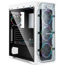 鑫谷 LUX拉克斯豪装版机箱(带4把白灯风扇/2个240冷排位/ATX大板位/亚克力透明侧板/U3/背线)产品图片主图