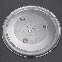 IT-CEO J03679 微波炉转盘 微波炉玻璃托盘盘子 适用美的/格兰仕/松下/三洋 直径31.5cm中心三角Y型产品图片主图