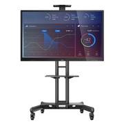 飞利浦 BDL6530QT 65英寸智能会议电子白板 会议平板 触摸一体机(含移动支架)