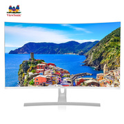 优派  31.5英寸 2K高分 微边框曲面 广视角显示器  VX3217-2KC-HD-W