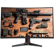 惠科 G271F 27英寸144Hz刷新1ms响应1800R曲面专业电竞吃鸡游戏组装主机台式电脑显示器(HDMI/DP/DVI接口)