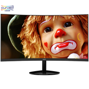 惠科 C240 23.6英寸1800R曲面VA广视角不闪屏滤蓝光纤薄微边吃鸡组装主机台式电脑显示器(HDMI/VGA接口)