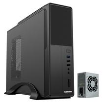 GAMEMAX 小精灵S612 迷你机箱电源套装(标配250W电源/标配8CM风扇/带读卡器/SECC电解板/U3)产品图片主图