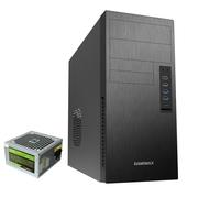GAMEMAX 商务办公台式机箱电源套装(4个USB接口/读卡器接口/TYPE-C接口/自带额定300W电源)