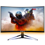 飞利浦 27英寸 1800R曲面屏 2K/QHD 144Hz刷新率 游戏电竞显示器278M6FJMB