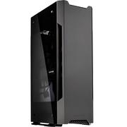 追风者  217E 曜石黑 新概念ITX电竞水冷VR铝机箱(支持SFX电源/长显卡/2x120水冷/多样式置放)