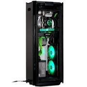追风者  217XE 豪华版 曜石黑 ITX电竞水冷VR全铝机箱(支持280水冷/长显卡/ATX电源/配2把风扇)