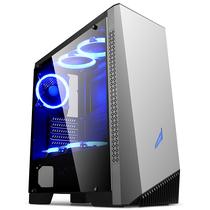 金河田 峥嵘Z6 游戏水冷台式机电脑主机箱(ATX/M-ATX/长显卡/全侧透明/RGB呼吸灯/360冷排)产品图片主图
