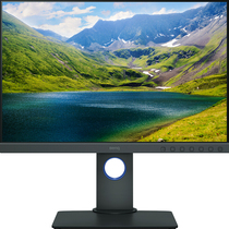明基 SW240 24英寸IPS屏99%aRGB色域窄边框△E≤2专业摄影液晶显示器产品图片主图