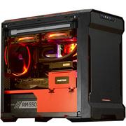 追风者  215P限量版 黑红 ITX水冷机箱(支持ITX主板/280水冷/长显卡/静音/防尘配20CM大风扇)