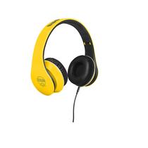 BBS CS-33头戴式耳机 重低音立体声 手机音乐 监听耳机 竞速黄产品图片主图