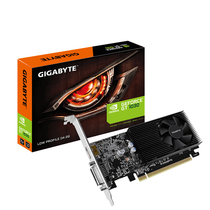 技嘉 GeForce GT 1030 Low Profile D4 1151-1417MHz/2100MHz 2G/64bit显卡产品图片主图