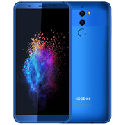 koobee F2智能拍照音乐手机 三摄高清成像 全网通双卡双待手机 宝石蓝