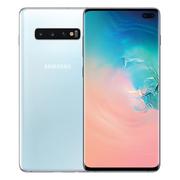 三星 GalaxyS10+SM-G9750骁龙855超感屏超声波屏下指纹4G手机全网通双卡双待游戏手机8GB+128GB皓玉白
