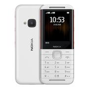 诺基亚 5310白红直板按键移动联通2G音乐手机双卡双待老人手机学生备用功能机