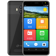 天语 K-TouchK73GB+16GB全网通4G大屏智能老人手机移动联通电信VoLTE双卡双待学生备用老年手机黑色