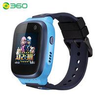 360 儿童电话手表C1IPX8防水AI智能定位GPS视频电话手表4G移动联通手表学生男女孩尼罗蓝产品图片主图