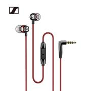 森海塞尔 CX300S手机音乐运动耳机有线入耳式纯净音质智能线控红色