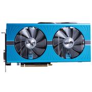 蓝宝石 RX590GME8GD5超白金极光特别版1380-1440MHz8000MHz8GB256bitGDDR5DX12显卡