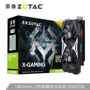 索泰 GTX1660SuperX-GAMINGOCPRO显卡N卡台式机游戏电竞网课高效办公独立显卡6G显存