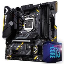 华硕 TUFB365M-PLUSGAMING主板+英特尔inteli3-9100F酷睿CPU处理器板U套装CPU主板套装产品图片主图