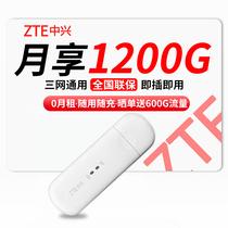 中兴 移动随身wifi三网4g无线路由器插卡无限随行车载无线上网卡托笔记本无线网卡mifi产品图片主图