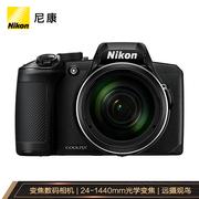 尼康 COOLPIXB600轻便型数码相机高倍率变焦远摄摄月观鸟黑色b600约1,602万有效像素