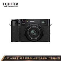 富士 X100V数码相机旁轴2610万像素人文扫街黑色产品图片主图