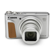 佳能 PowerShotSX740HS数码相机银数码高清旅游小型摄影美颜自拍40倍长焦家用数码相机产品图片主图