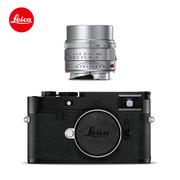 徕卡 相机M10-D旁轴经典全画幅数码相机20014+M50mmf2AA银色11142优选套餐一