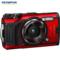 奥林巴斯 TG-6多功能运动相机防水防震防尘数码tg6照相机微距潜水户外旅游4K视频卡片机红色产品图片4