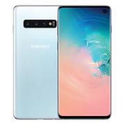 三星 GalaxyS10SM-G9730骁龙855超感屏超声波屏下指纹4G手机全网通双卡双待游戏手机8GB+128GB皓玉白