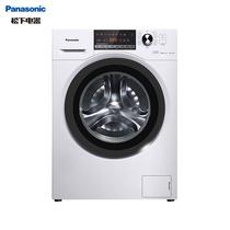 松下 滚筒洗衣机全自动10公斤高温除菌变频三维立体洗超薄机身XQG100-EJDCP白色产品图片主图