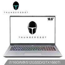 雷神 五代新911荣耀版16.6英寸游戏笔记本电脑i7-9750H16G512GSSDGTX1660Ti144Hz产品图片主图