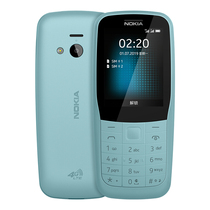 诺基亚 2204G移动联通电信三网4G蓝色双卡双待4G备用功能机老人机学生手机产品图片主图